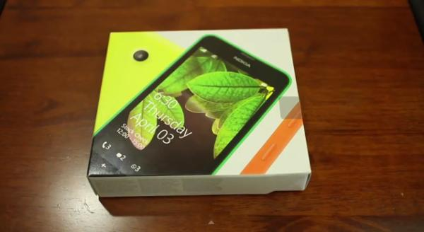 Nokia Lumia 630 unboxing provides quick look