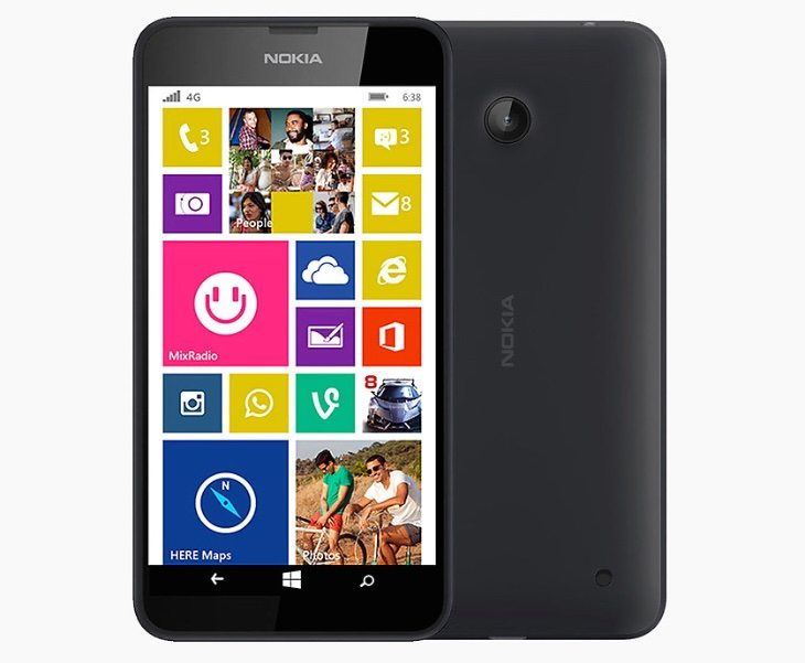 Nokia Lumia 638 LTE price from India launch