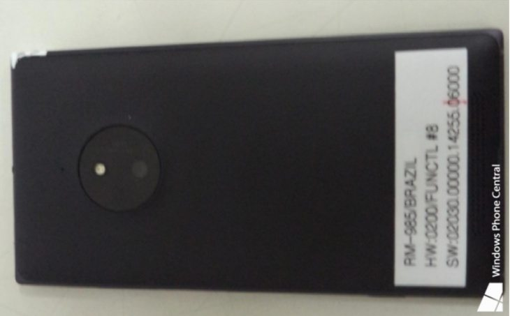 Nokia Lumia 830 certification c