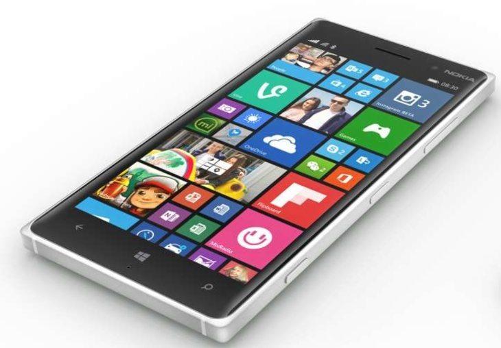 Nokia Lumia 830 price for UK