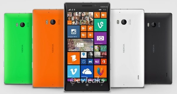 Nokia Lumia 930 image leak emerges
