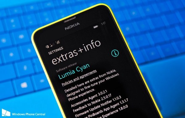 Nokia Lumia Cyan update rolling out for more