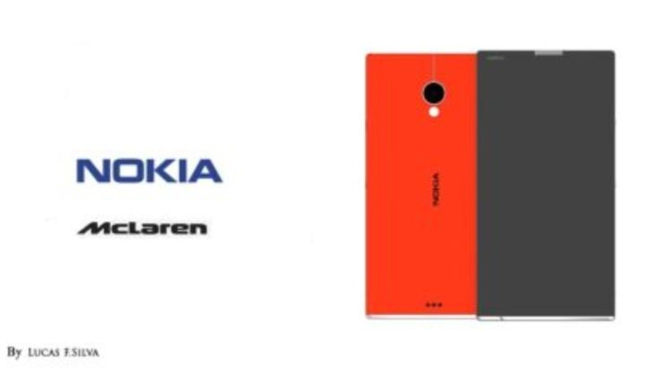 Nokia McLaren phone inspired by supercars