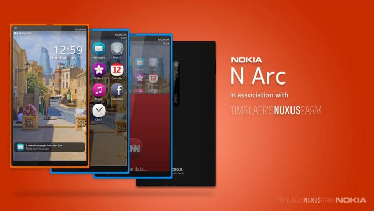 Nokia N Arc is the perfect N9 replacement