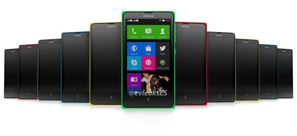 Nokia Normandy Android phone seen in colour variety