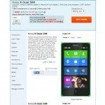 Nokia X Dual SIM price listed on retail store in India