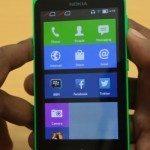 Nokia X UI shown in detail