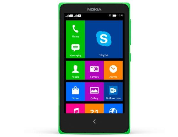 Nokia X family customized Skype