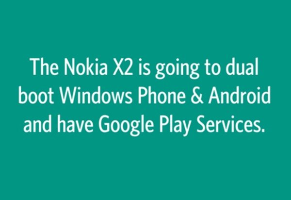 Nokia X2 could be dual boot handset