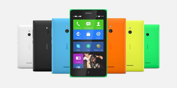 Nokia XL, X, X+ join the Android party