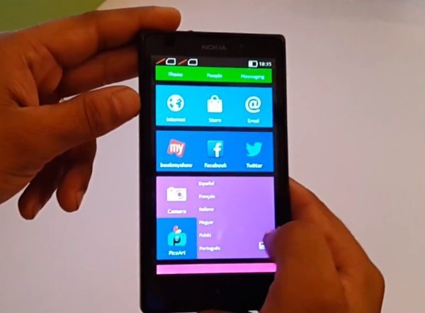 Nokia XL initial thoughts on video