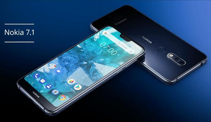 Nokia 7.1 revealed