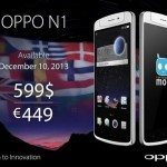 OPPO N1 release and pricing set