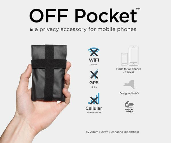 Off Pocket accessory blocks wireless signals
