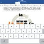 Office for iPad update brings welcome new feature