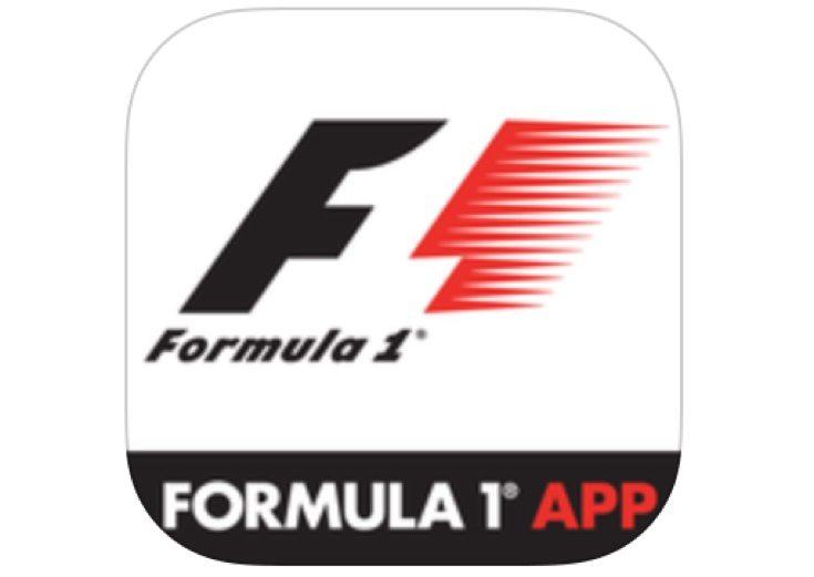 Official F1 app b