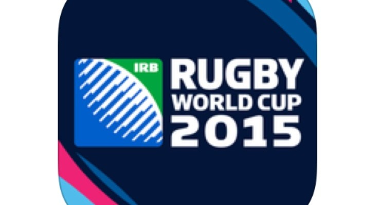 Official Rugby World Cup 2015 App info for iOS and Android