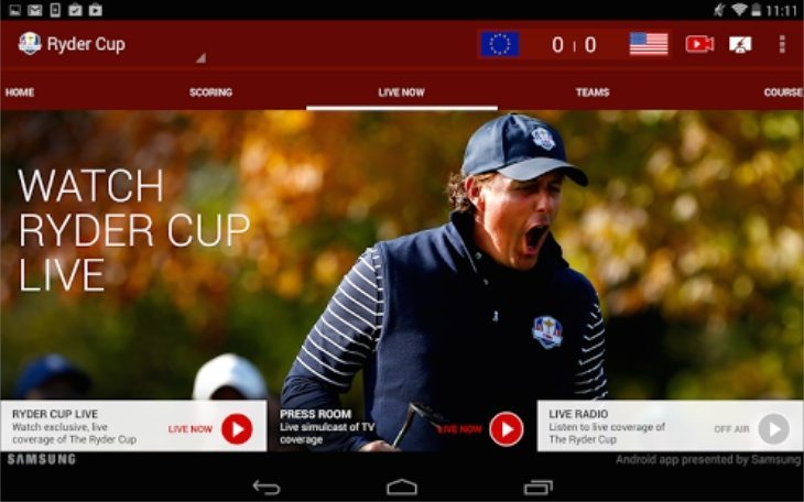 Official Ryder Cup apps b
