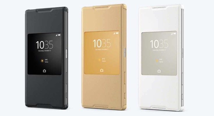 Official Sony Xperia Z5 Premium case available, Style Cover Window