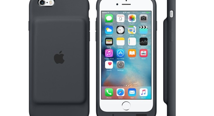Official iPhone 6S new Smart Battery Case price for US and UK