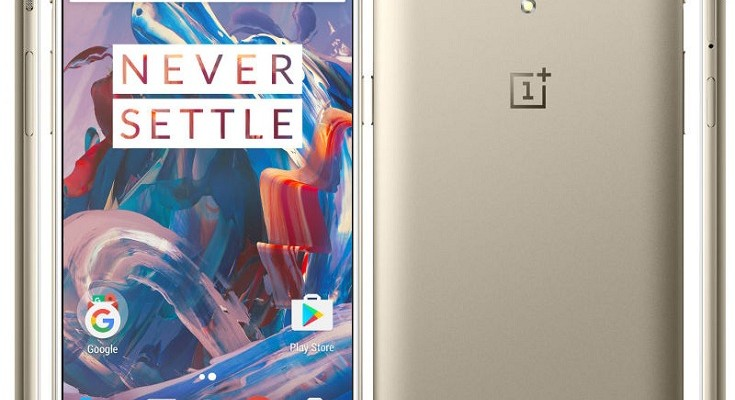OnePlus 3 Releases Soft Gold Edition