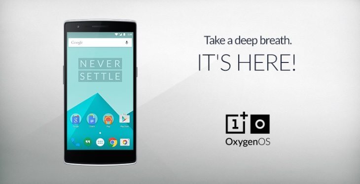 OnePlus One Oxygen OS arrives at last