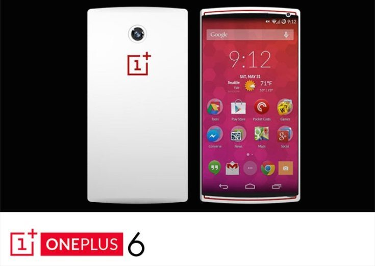 OnePlus One steps up to OnePlus Six design d