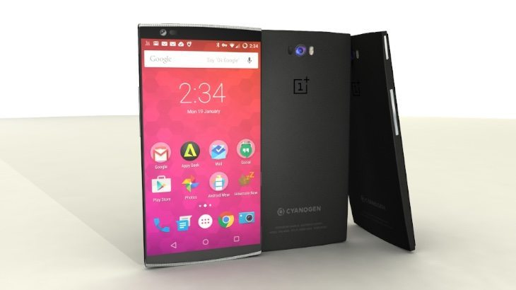 OnePlus Two design b