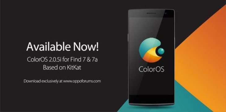 Oppo Find 7, 7a Color OS 2 0 5i beta update ready for