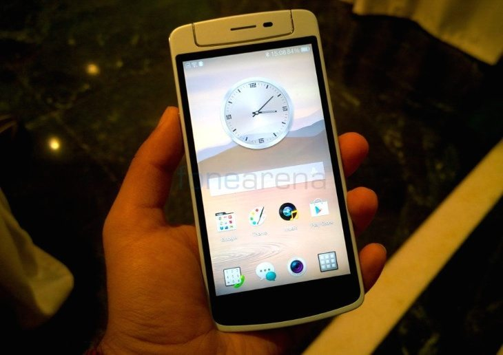 Oppo N1 mini price and availability for India