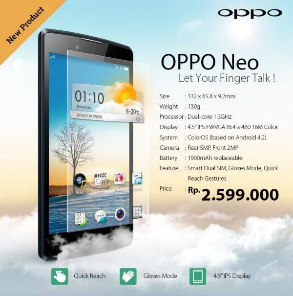 Oppo Neo price vs Moto G no comparison