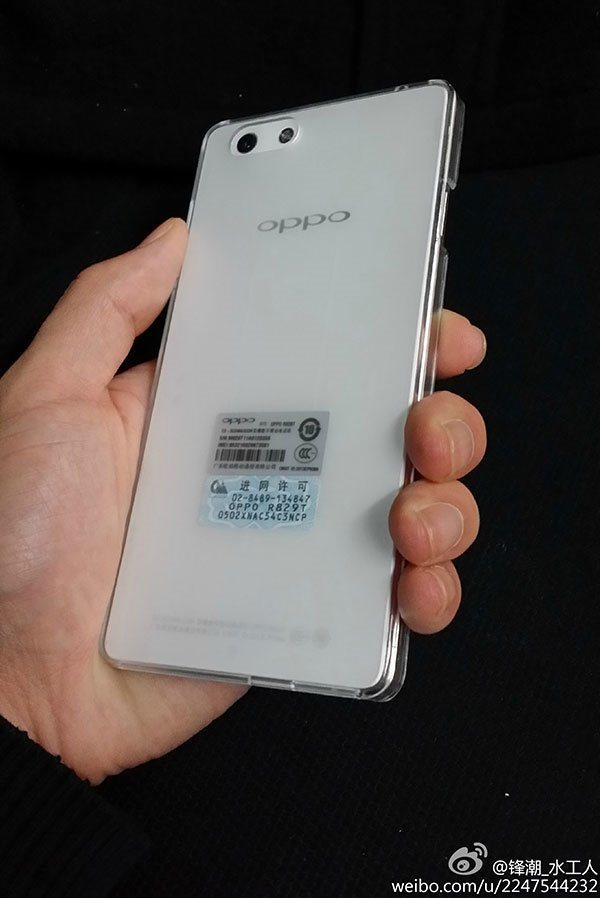 Oppo R1 design in hands-on photos pic 3