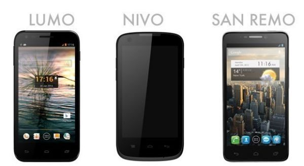 Orange branded Nivo, San Remo, Lumo smartphones enters strategy