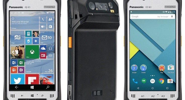 Panasonic Toughpad FZ-F1 Windows 10, FZ-N1 Android phones and prices