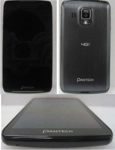 Pantech Perception for Verizon just got photographed