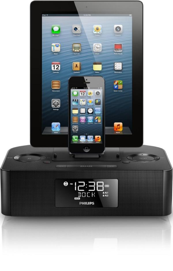 Philips AJ7260D37 Dual Dock for iPhone iPad users