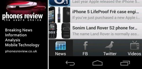 Phones Review Android Mobile App Available main pic
