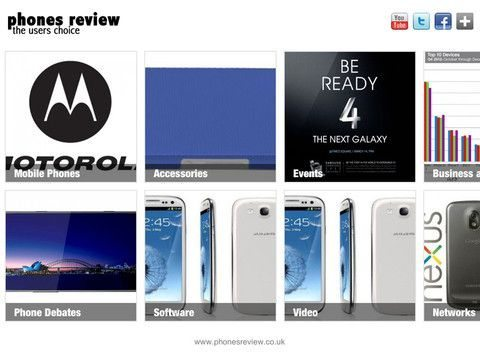 Phones Review iPad app now live pic 1