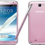 Pink Samsung Galaxy Note 3 at Phones 4u
