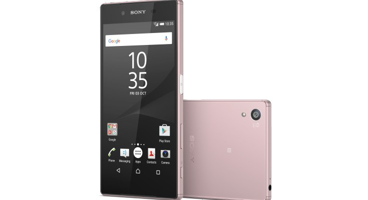 Sony unveils the Pink Xperia Z5, launches in February