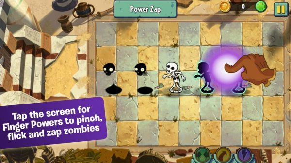 Plants vs Zombies 2 android app released with a catch pic 2