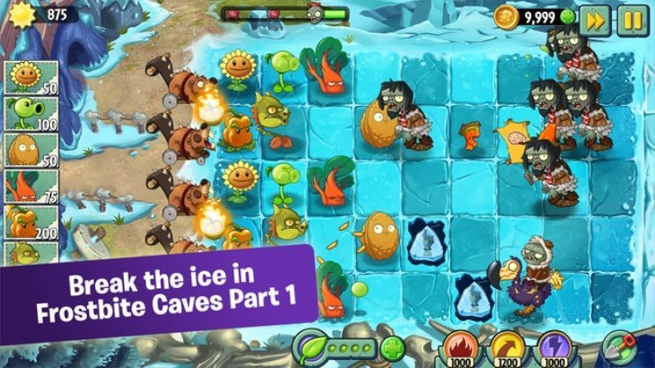 Plants vs Zombies 2 update b