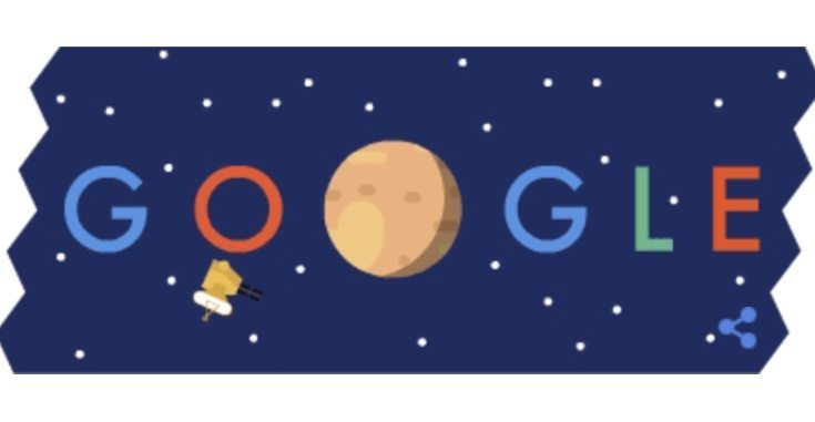 Pluto Flyby Google Doodle for NASA New Horizons probe