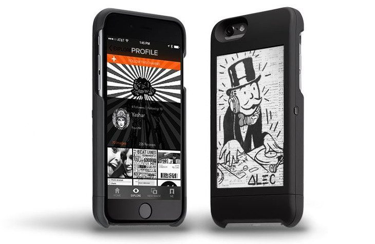 PopSLATE iPhone e-ink case orders open up for $130