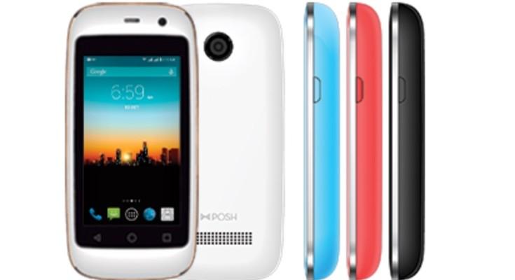 Posh Mobile Micro X S240 has a tiny display and low price