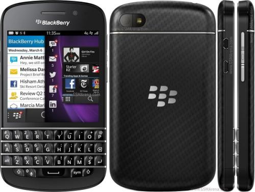 BlackBerry Q10 selling well since release
