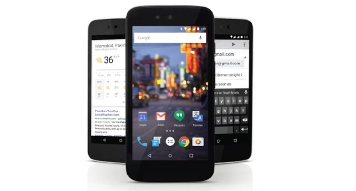QMobile A1 Android One phone for Pakistan
