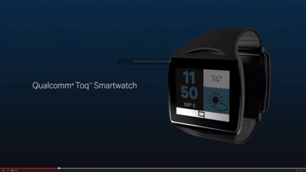 Qualcomm TOQ Android smartwatch pre-order and price