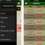 Ramadan 2013 apps for Android and iOS