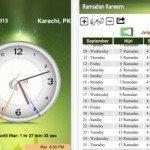 Ramadan apps for caleandar